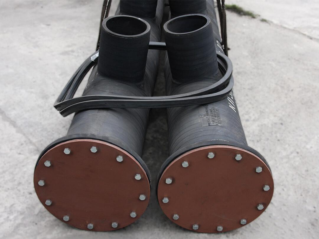 Тройники и коллекторы резиновые - 8