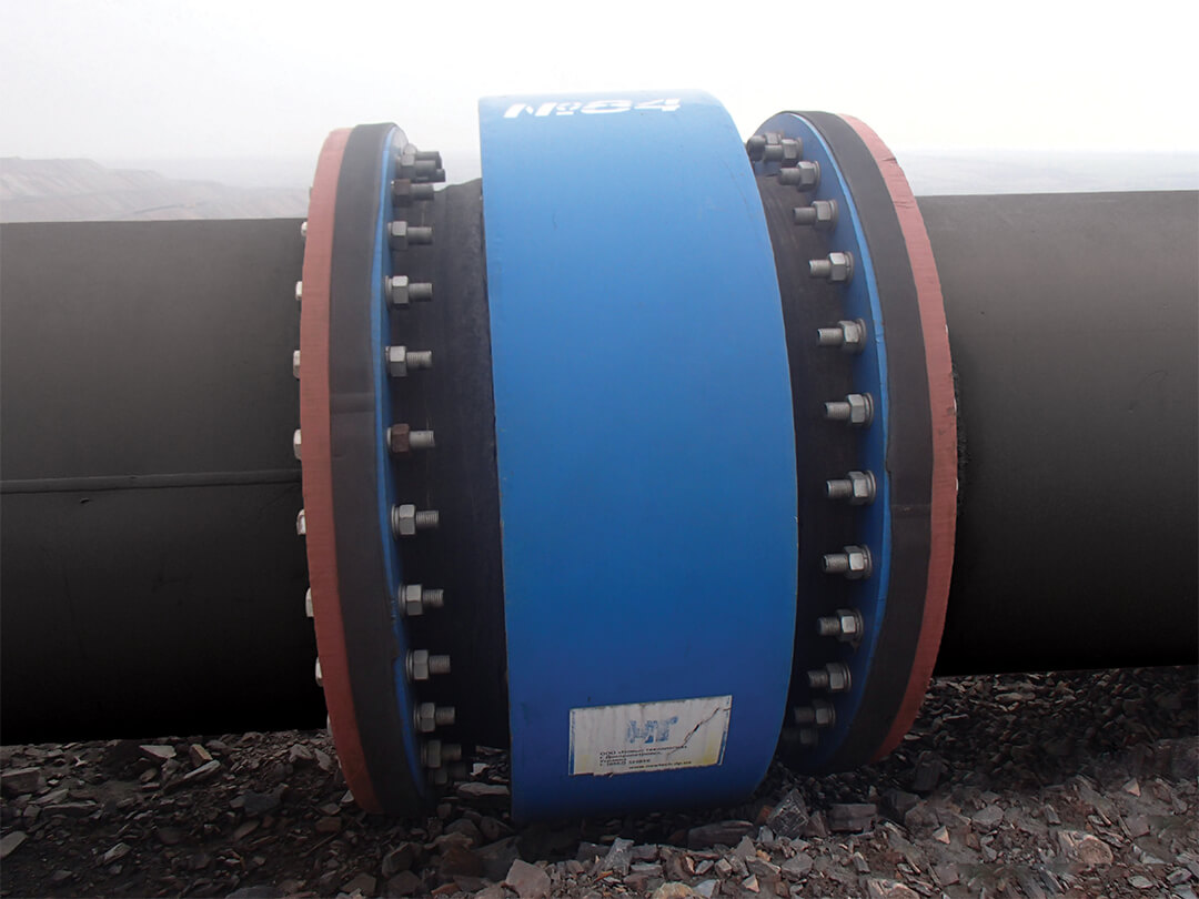 Expansion absorbers for main pipelines - 2