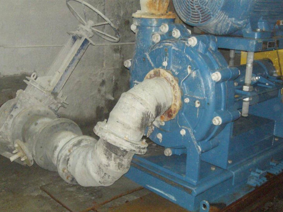 Pump to sump connecting assembly - 2