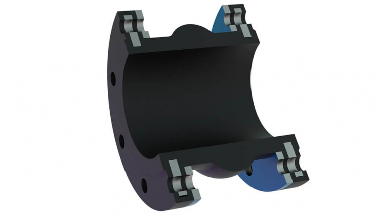 Flanged flexible coupling - 4