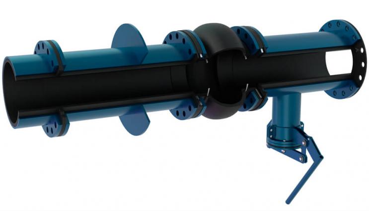 Вузол з'єднання насоса із зумпфом - 2