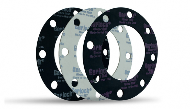 Flange seals (flat gaskets) (asbestos-free paronite) - 1