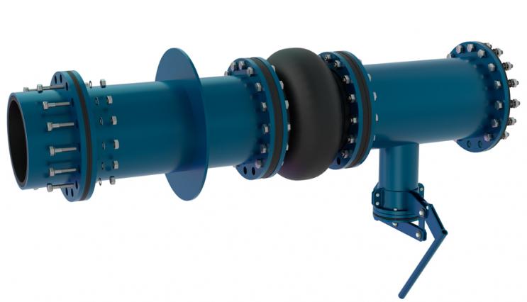 Вузол з'єднання насоса із зумпфом - 1