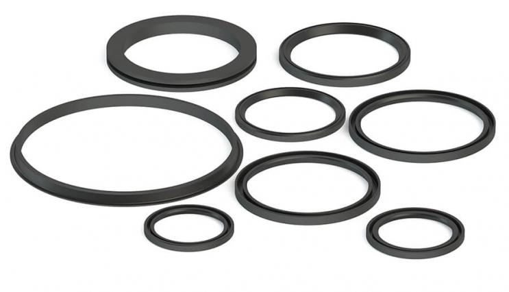 Rectangular cross-section seal rings - 1